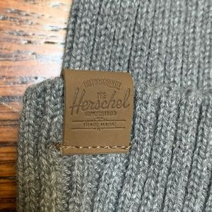Herschel Childs Beanie Gray NWOT